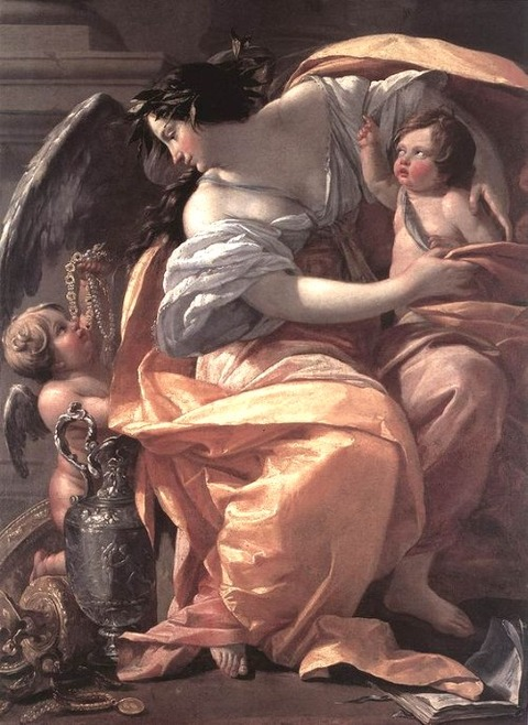 Wealth, by Simon Vouet (1630-1635)