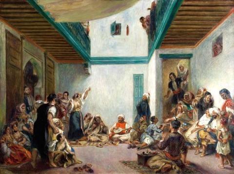 ユダヤ人の結婚式 1875