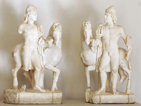 Roman statuettes (3rd century AD)