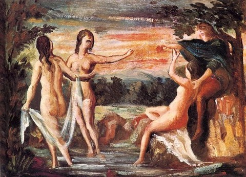 Paul_Cézanne パリスの審判 1862