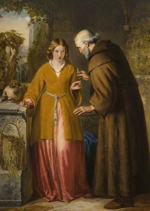 William James Grant - Juliet and the Friar