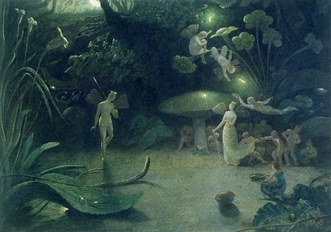 Scene From a Midsummer Nights Dream by Francis Danby 1832