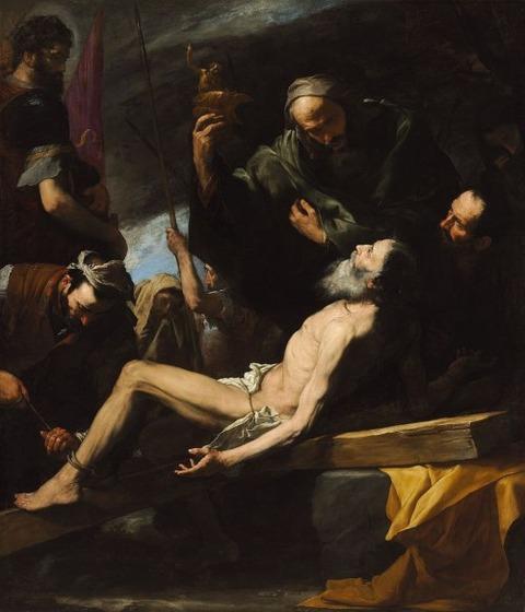 ホセ・デ・リベーラ 聖アンデレの受難 1628