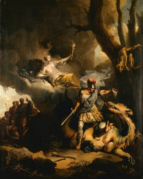 Jason Colchian Dragon 1766-70 Gemaldegalerie Dessau