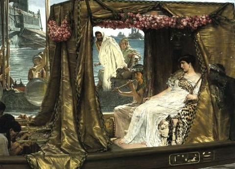 Antony and Cleopatra  Lawrence Alma Tadema 1885