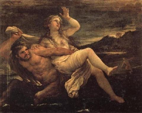 Luca Giordano - Rape of Deianeira by Nessus