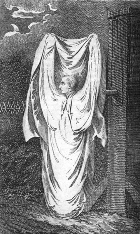magazine published in 1804-Hammersmith_Ghost
