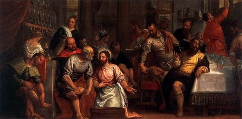 Paolo Veronese - Christ Washing the Feet 1580