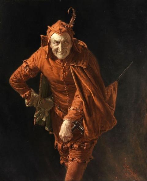 Mephisto, 1895  Eduard von Grützner