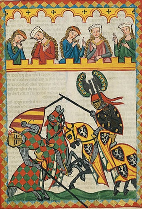 Master of the Codex Manesse (Foundation Painter) 1305-15