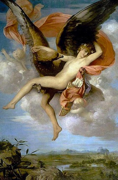 Ganymede - Gabriel Ferrier 1874