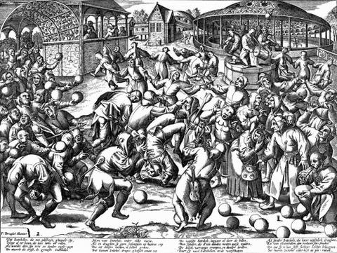 Pieter Brueghel - The Feast of Fools