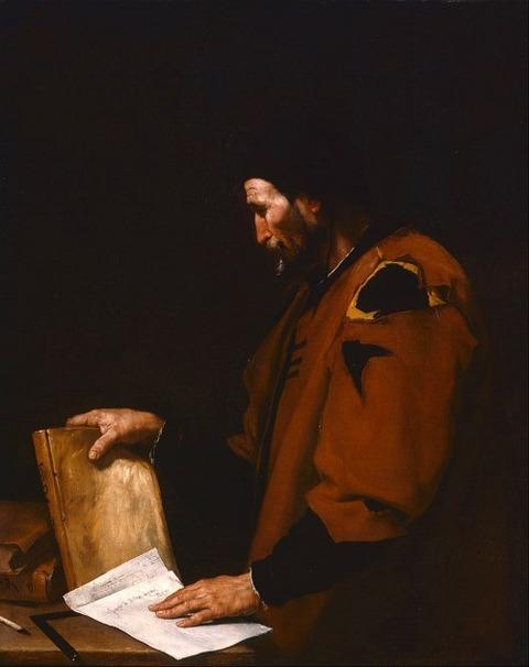Ribera, Jusepe de - Aristotle   1637