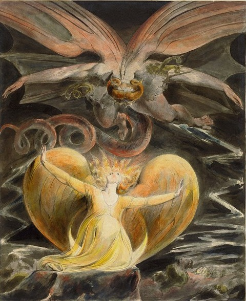 The Great Red Dragon and the Woman Clothed with Sun (1805)