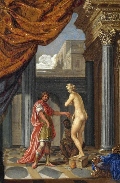 Pygmalion And Galatea by Joseph Werner