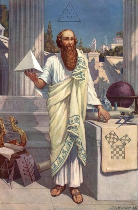 Pythagoras  J. Augustus Knapp 1926