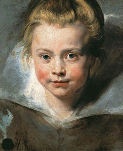クララ・ルーベンスの肖像