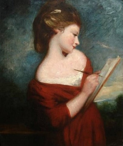 Joshua Reynolds mistress of Lord Nelson  later wife