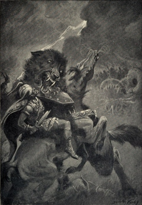 odin-and-fenrir