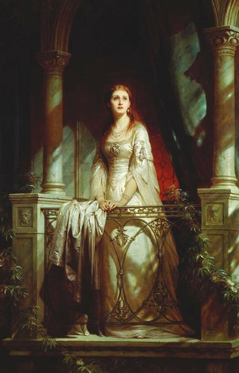 Juliet, 1877 by Thomas-Francis Dicksee