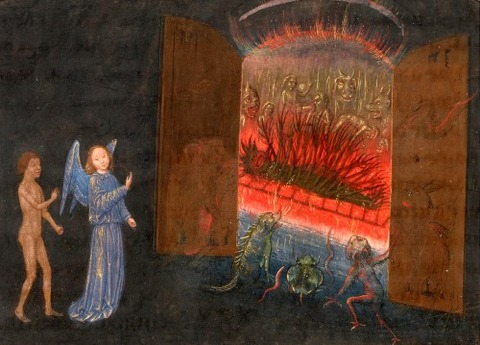 Simon Marmion Vision of Hell