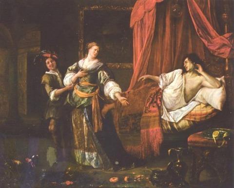 Amnon and Tamar - Jan_Steen 1625-1679