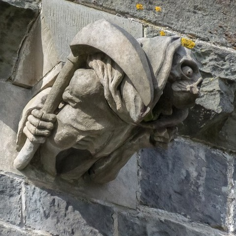 Paisley_Abbey_New_Gargoyles (6)