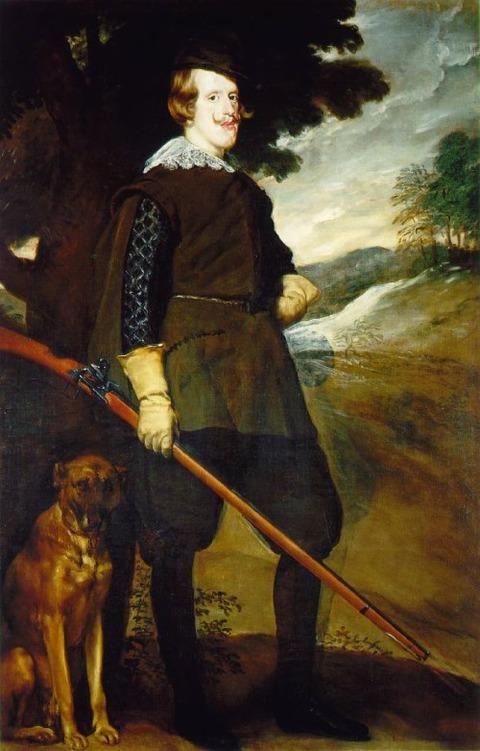 Felipe IV Cazador (Hunting) 1633