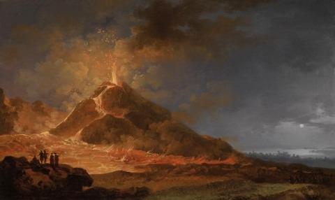Pierre Jacques Volaire A Vezúv kitörése 1771