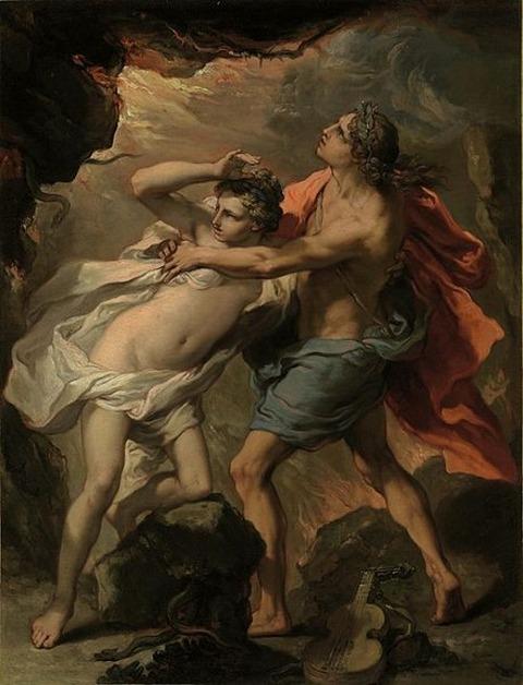 Gaetano Gandolfi - Orpheus and Eurydice