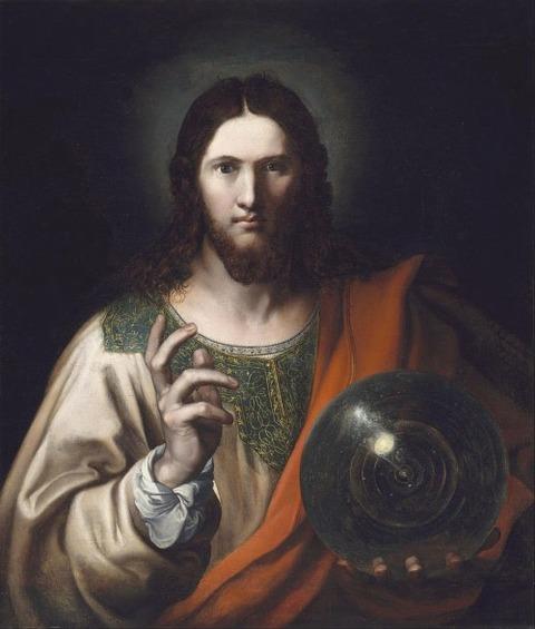 Unknown artist, Salvator Mundi 16th