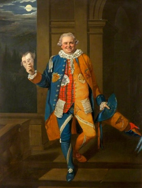 Johann Zoffany 1770 Gentleman in Masquerade Costume