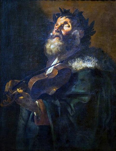 Homer by Mattia Preti 1635