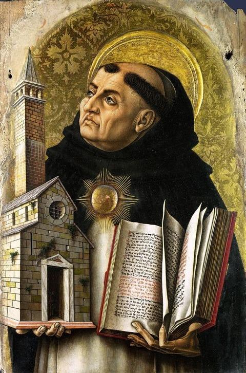 St Thomas Aquinas, 1476