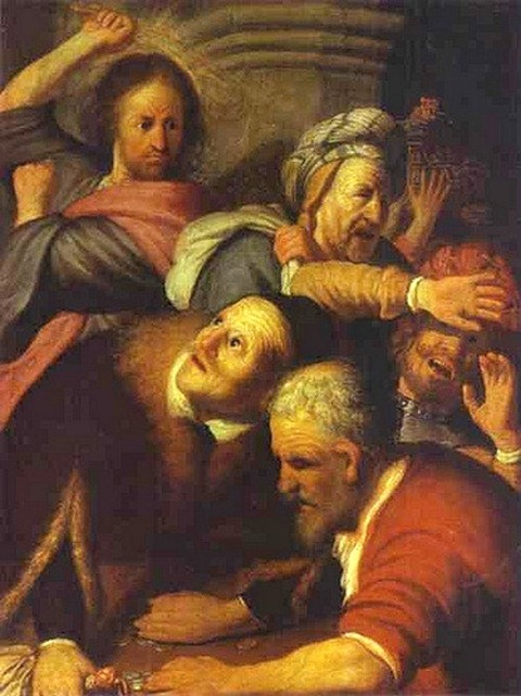 Christ Drives Money-Changers from the Temple