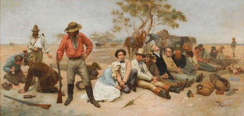 William Strutt, 'Bushrangers, Victoria, Australia, 1852-87