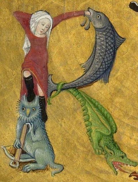 DamienKempf geleden Medieval Abecedarium 15th