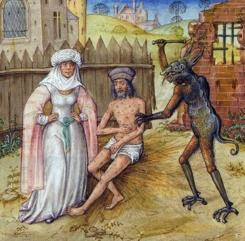 Mirror of Human Salvation 15世紀