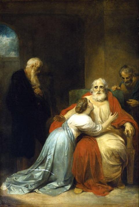 Robert Smirke, The Awakening of King Lear 1792