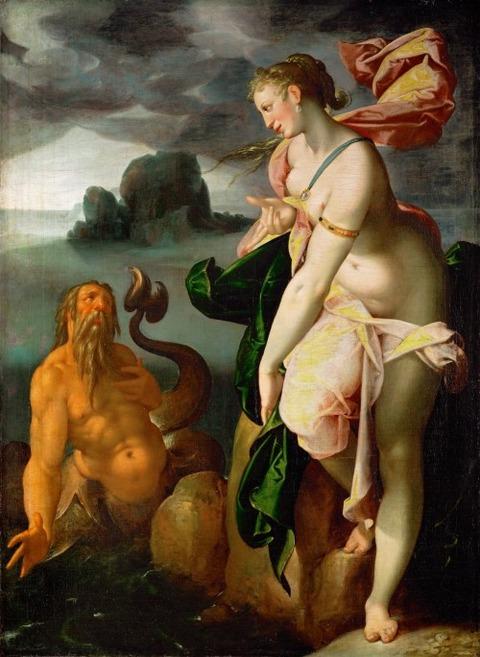 Bartholomäus_Spranger Glaucus and Scylla 1580-82