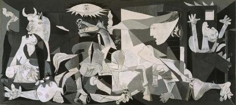 パブロ・ピカソ ゲルニカ 1937