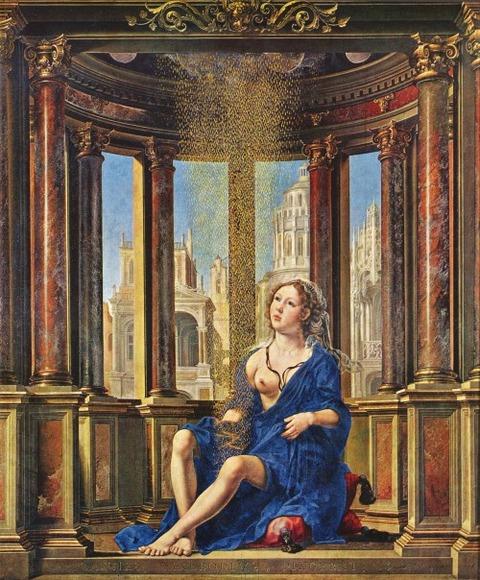 Jan Gossaert, Danae, 1531