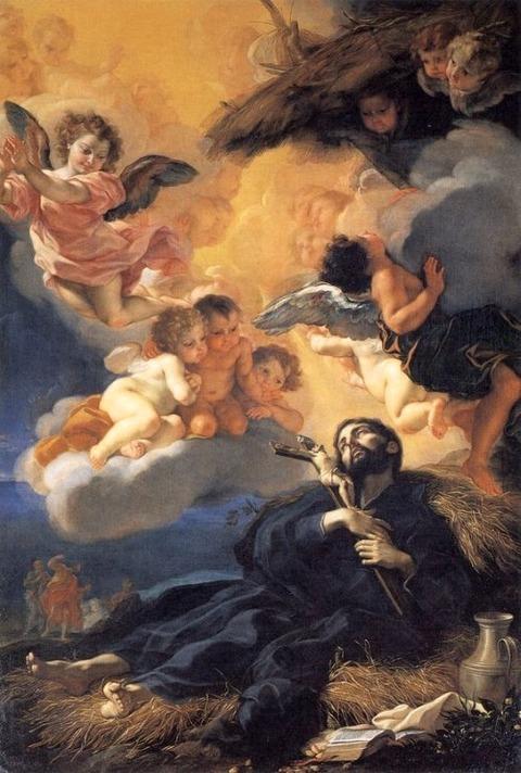 Giovanni Battista Gaulli (Il Baciccio) Death 1676
