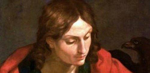 使徒ヨハネの絵画14点。十二使徒...