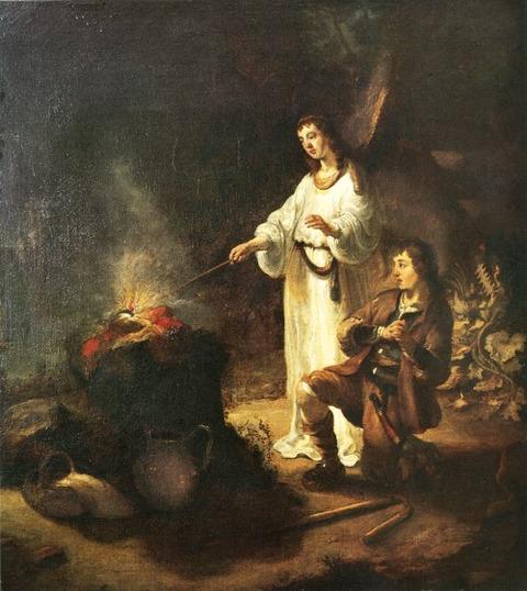 Gerbrand van den Eeckhout  Gideon's Sacrifice 1642