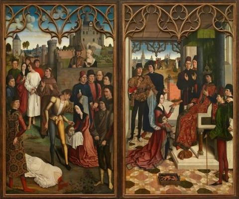 Justice of Emperor Otto III Beheading 1471