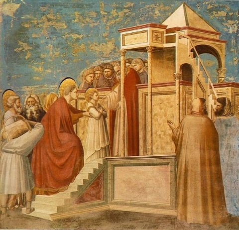 Giotto_Scrovegni_Presentation_of_the_Virgin_in_the_Temple  13-14