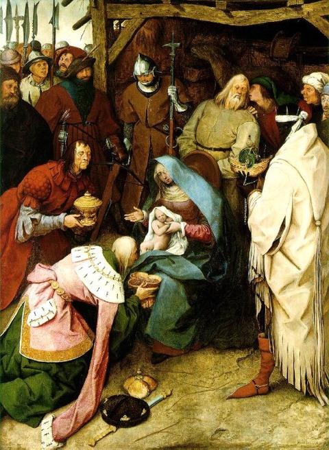 東方三博士の礼拝 1564