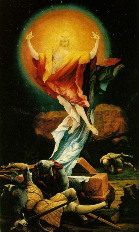 1510 Matthias Grunewald Resurrection