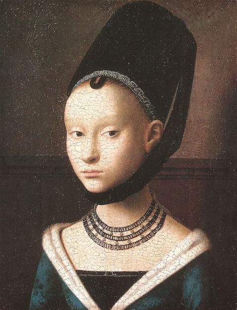 Petrus_Christus  若い女の肖像  1470年頃
